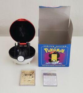 Vintage 1999 Burger King Pokemon Blue Jigglypuff 23k Gold Plated Trading Card