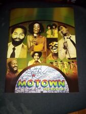 MOTOWN,  2013 Brodway Musical Orig Cast Program, Brandon Victor Dixon