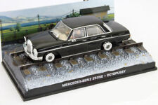 MERCEDES BENZ 250 SE 1:43 JAMES BOND Car Model Die Cast Metal Models Miniature