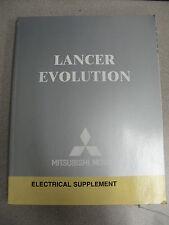2004 Mitsubishi Lancer Evolution Electrical Service Manual