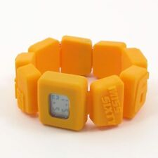 New Miss Sixty Holiday Digital Watch for Girl, Silicon Rubber Bracelet, Yellow
