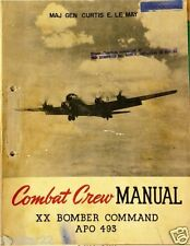 WWII B-29 Combat Crew Flight Manual - Curtis LE MAY  in Easy To View .pdf Format