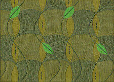 Arc/com Wind Chime Grasshopper irredescent leave drapery upholstery Fabric