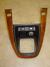 99-03 LEXUS RX300 RX 300 CENTER SHIFT WOOD BEZEL WITH ALL SWITCHES