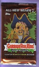 2004 Garbage Pail Kids All New Series 2 ANS 2 Unopened Sticker Pack from Box