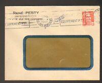 """PARIS (XX°) CONSTRUCTEUR MECANICIEN """"René PESTY"""" en 1953"""