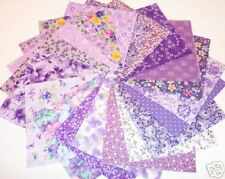 40  Lavender  4x4  Cotton Quilt Quilting Squares 40*Lovely buy now