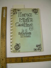 Here's What's Cooking in a Rotarian's Kitchen 1986 Laconia New Hampshire Rotary