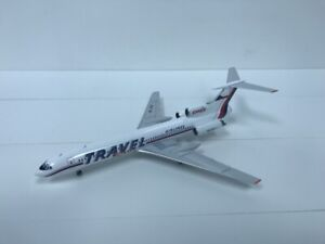 "Tu-154M Travel Service ""1997"" Colors, 1:200 scale diecast"