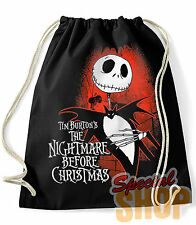MOCHILA / BOLSA THE NIGHTMARE BEFORE CHRISTMAS TIM BURTON  BAG/BACKPACK