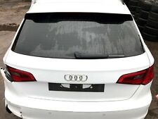 GENUINE 2012-2016 AUDI A3 S3 8V REAR TAIL GATE BOOT LID REAR BOOT IN WHITE