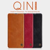 NILLKIN For Samsung Galaxy A51 Shockproof Ultra Slim QIN Flip Leather Case Cover