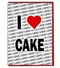 Greeting Card - Birthday Card - I Love Cake