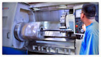 MACHINE SHOP WORK CUSTOM FABRICATION CNC QUOTE METAL SERVICES GRINDING LATHE