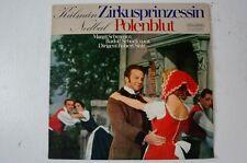 Kálmán Zirkusprinzessin Nedbal Polenblut Robert Stolz Schramm Schock (LP6)