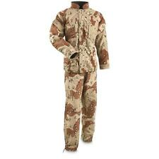 U.S. Military Issue Chemical Suit Six Color Desert Camo, Never Issued, LARGE