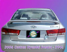 PAINTED SPOILER FOR A HYUNDAI SONATA 2006-2010