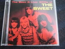 2CD  THE SWEET  The Best & Live  Neuwertige Doppel CD
