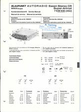 Blaupunkt Original Service Manual für Essen Stereo CR Super-Arimat ASU 7636936