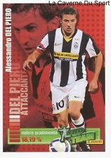 DEL PIERO # JUVENTUS ITALIA RARE UPDATE STICKER CALCIATORI 2009 PANINI TOP TEAM