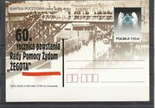 Poland EP 1296 Judaica 60 ans aide juifs getto Varsovie Zegota mains etoile