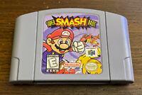 Super Smash Bros Nintendo 64 N64 Original OEM Authentic Clean Tested Free Ship
