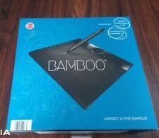 Coffret complet Wacom Bamboo tablette MTE 450 USB  Dessiner Écrire Photoshop