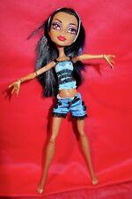 Monster High doll   Robecca Steam Dead Tired in pyjama set & sleep mask