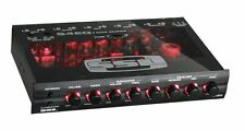Soundstorm Ssl S4Eq 4 Band Pre Amp Graphic Car Audio Stereo Equalizer Eq w/ Knob