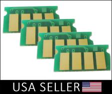 4 Color Toner Reset Chip Set For Ricoh Aficio SP C250DN C250SF C261SFNW