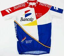Banesto Nalini Campagnolo Vintage Cycling Bike Racing Jersey Shirt Men's Xl