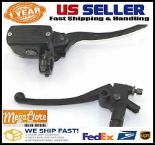 Honda Transalp XL600 XL650 Front Brake Master Cylinder & Clutch Perch - FULL BLK