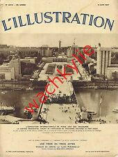 L'illustration 4918 - 05/06/1937 Châtillon-Coligny Exposition Cerbère Marine ads