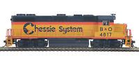 MTH HO Chessie GP38-2 DCC Ready Engine 85-2044-0