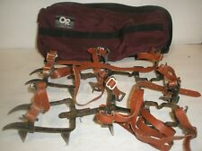 SMC 12 POINT METAL ICE SNOW CRAMPONS CLIMBING MOUNTAINEERING SIZE SMALL S