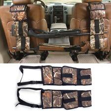 2x Rifle Shotgun Holder Gun Sling Case Car Rack Back Seat Pickup Truck Organizer