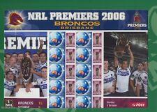 AUSTRALIEN - 2006 AUSTRALIA NRL PREMIERS BRONCOS BRISBANE RUGBY BOGEN **