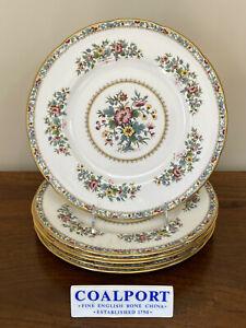 Coalport MING ROSE Dinner Plate ~ Set of 6