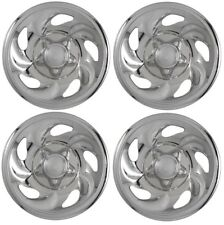"1997-2000 Ford F150 EXPEDITION 16"" Steel Wheel CHROME Skins Hubcaps Covers SET"