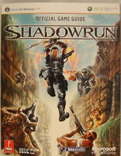 Shadowrun XBOX 360 PC Game Guide 2007 NEW SEALED