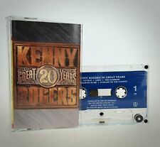 Kenny Rogers - 20 Great Years Cassette