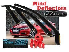 Honda Civic IX 2012 - 2016 HATCHBACK 5.doors Wind deflectors 4.pc   HEKO  17163