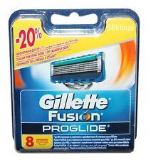 8er Gillette FUSION PROGLIDE Rasierklingen 8 Stück Klingen Set Gillete OVP