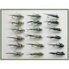 4 x SALMONE FLY Fishing Flies Doppio Gancio boia GRATIS 1st Class Post 10,8