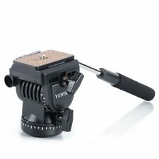 AU YunTeng Yt-950 Fluid Damping Drag Head for Video Studio DSLR Camcorder Tripod