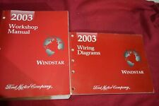 2003 Ford Windstar Dealer Shop Repair Manual WSVA