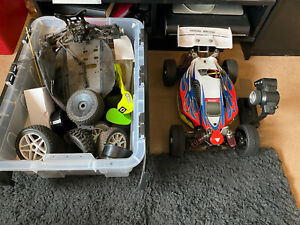 Hobao Hyper 7 Brushless & Lots Of Parts Project Needs Finising