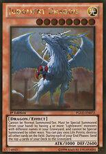 PGLD-EN072 Judgment Dragon 1st Edition Gold Rare Yugioh Card