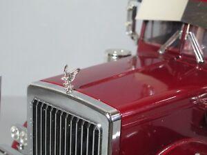 Metal Hood Eagle Grill Ornament Emblem Tamiya 1/14 King Grand Knight Hauler