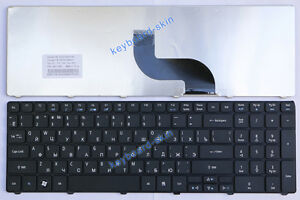 new Acer Aspire 5733 5733Z AS5733 AS5733Z Series laptop Keyboard RU клавиатура